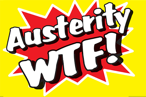 Austerity WTF! At Dismaland