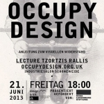 Occupy Design Talk in Berlin